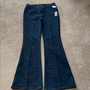 Michael Kors dark denim Bellbottom jeans